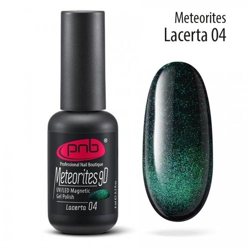 Магнитный гель-лак 9D PNB 04 Lacerta, 8 мл.