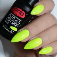 Гель-лак PNB Lemon Bang 251, 8 мл.