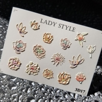 Слайдер дизайн 3D-17 Lady Style