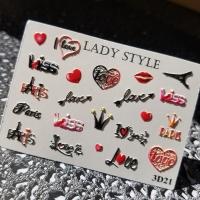 Слайдер дизайн 3D-21 Lady Style