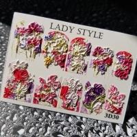 Слайдер дизайн 3D-30 Lady Style
