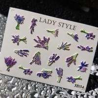 Слайдер дизайн 3D-34 Lady Style