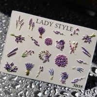 Слайдер дизайн 3D-35 Lady Style