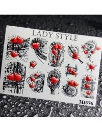 Слайдер дизайн 3D-376 Lady Style
