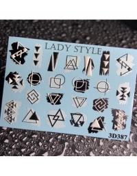 Слайдер дизайн 3D-387 Lady Style