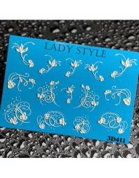 Слайдер дизайн 3D-411 Lady Style