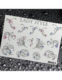 Слайдер дизайн 3D-413 Lady Style