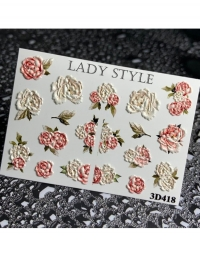 Слайдер дизайн 3D-418 Lady Style