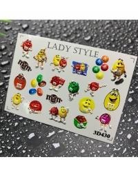 Слайдер дизайн 3D-430 Lady Style