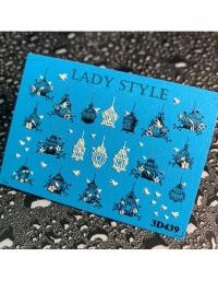 Слайдер дизайн 3D-439 Lady Style