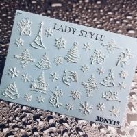 Слайдер дизайн 3D-NY15 Lady Style