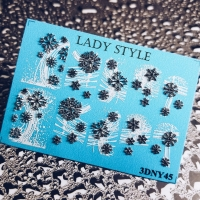 Слайдер дизайн 3D-NY45 Lady Style