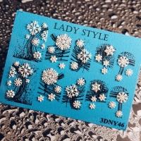 Слайдер дизайн 3D-NY46 Lady Style