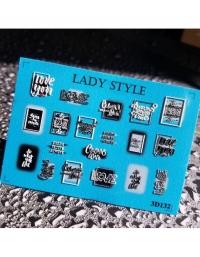 Слайдер дизайн 3D-132 Lady Style
