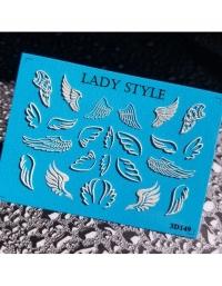 Слайдер дизайн 3D-149 белый Lady Style