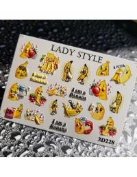 Слайдер дизайн 3D-228 Lady Style