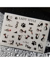 Слайдер дизайн 3D-23 Lady Style