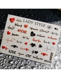 Слайдер дизайн 3D-230 Lady Style