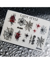 Слайдер дизайн 3D-266 Lady Style