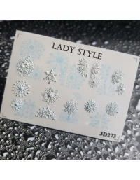 Слайдер дизайн 3D-273 Lady Style