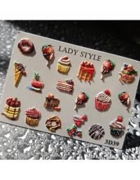 Слайдер дизайн 3D-39 Lady Style
