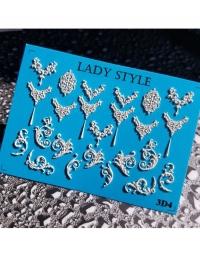 Слайдер дизайн 3D-4 белый Lady Style