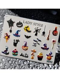 Слайдер дизайн 3D-52 Lady Style