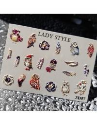 Слайдер дизайн 3D-57 Lady Style