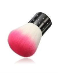 Кисть-сметка для ногтей розовая
