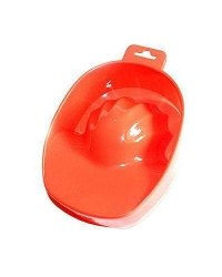 Ванночка для маникюра красная