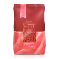 """Воск горячий пленочный Italwax """"Роза"""", гранулы 1 кг."""