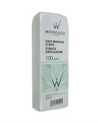 Полоски для депиляции Люкс 20х7 см. Monouso, 100 шт.