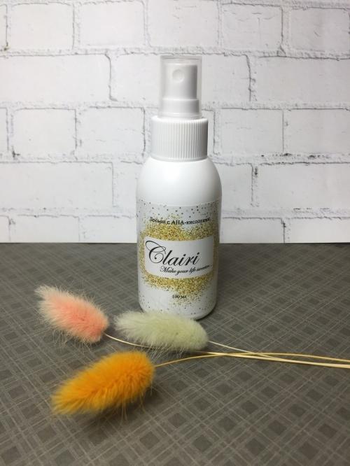 Лосьон от вросших волос с АХА-кислотами Clairi, 100 мл.