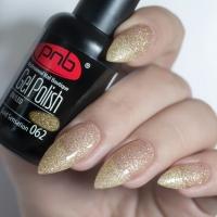 Гель-лак PNB Gold Sensation 062, 8 мл.