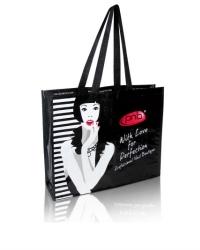 Брендовая сумка PNB, Black-White 470х370
