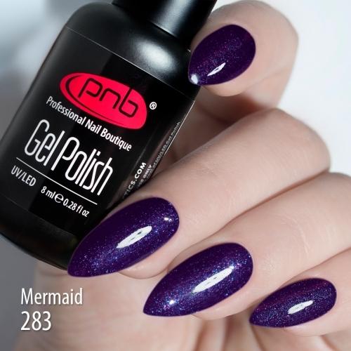 Гель-лак PNB Mermaid 283, 8 мл.