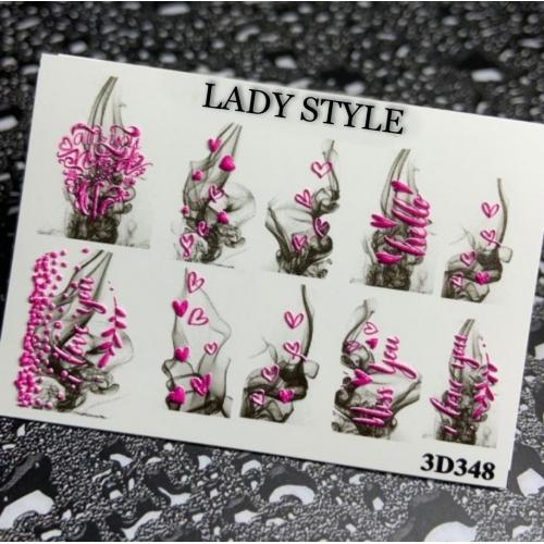 Слайдер дизайн 3D-348 Lady Style