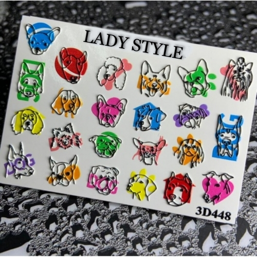 Слайдер дизайн 3D-448 Lady Style