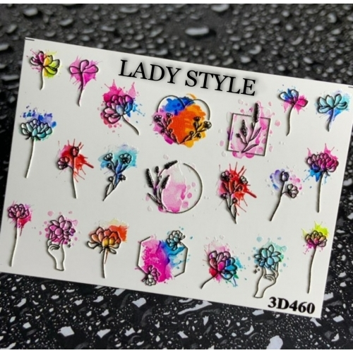 Слайдер дизайн 3D-460 Lady Style