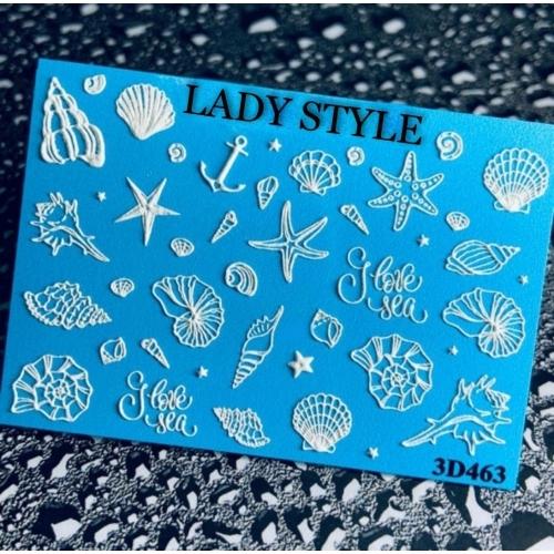 Слайдер дизайн 3D-463 Lady Style