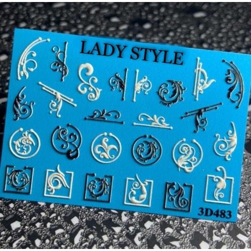 Слайдер дизайн 3D-483 Lady Style