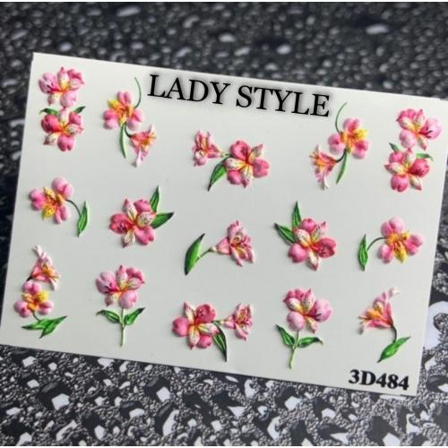 Слайдер дизайн 3D-484 Lady Style