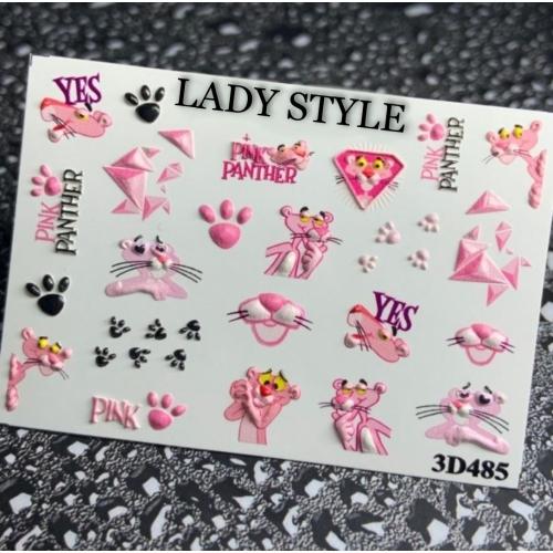 Слайдер дизайн 3D-485 Lady Style