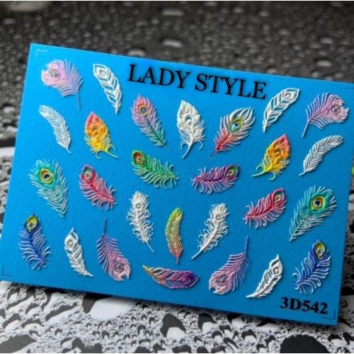 Слайдер дизайн 3D-542 Lady Style