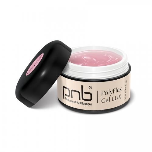 Полифлекс гель люкс светло-розовый PolyFlex Gel Lux Cool Pink PNB, 15 мл.