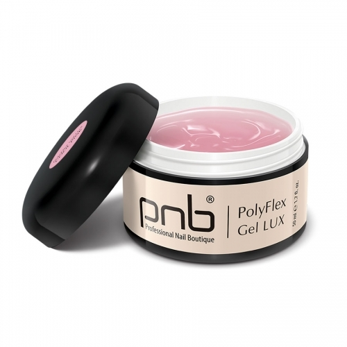 Полифлекс гель люкс светло-розовый PolyFlex Gel Lux Cool Pink PNB, 50 мл.