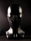 Маска защитная с угольным фильтром KN95 черная