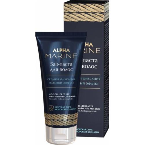 Salt-паста для волос с матовым эффектом Alpha Marine, 100 мл.