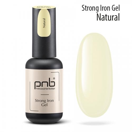Конструирующий гель Strong Iron Gel Natural Pnb, 8 мл.