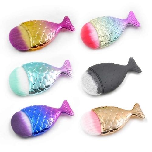 Кисть-сметка для маникюра рыбка
